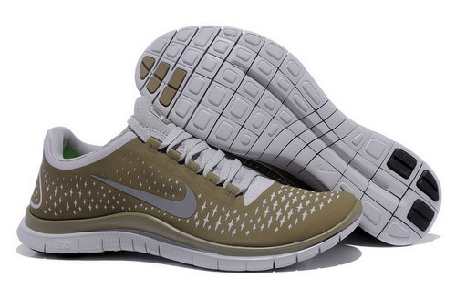 Nike Free Run 3.0 V4 Mens Size Us7.5 9 10.5 11.5 Gray Brown China